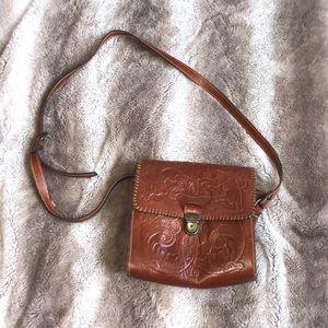 Vintage Patricia Nash saddle bag